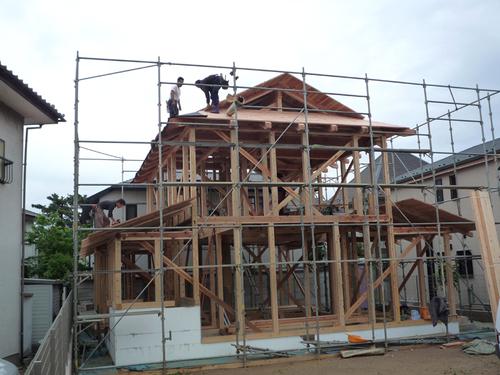 屋根作業2
