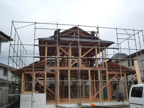 屋根作業3